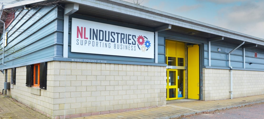 North Lanarkshire Industries building